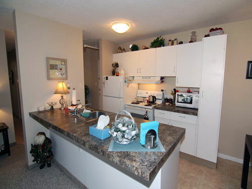 photo of kitchen at Willow Estates, Red Deer, Alberta